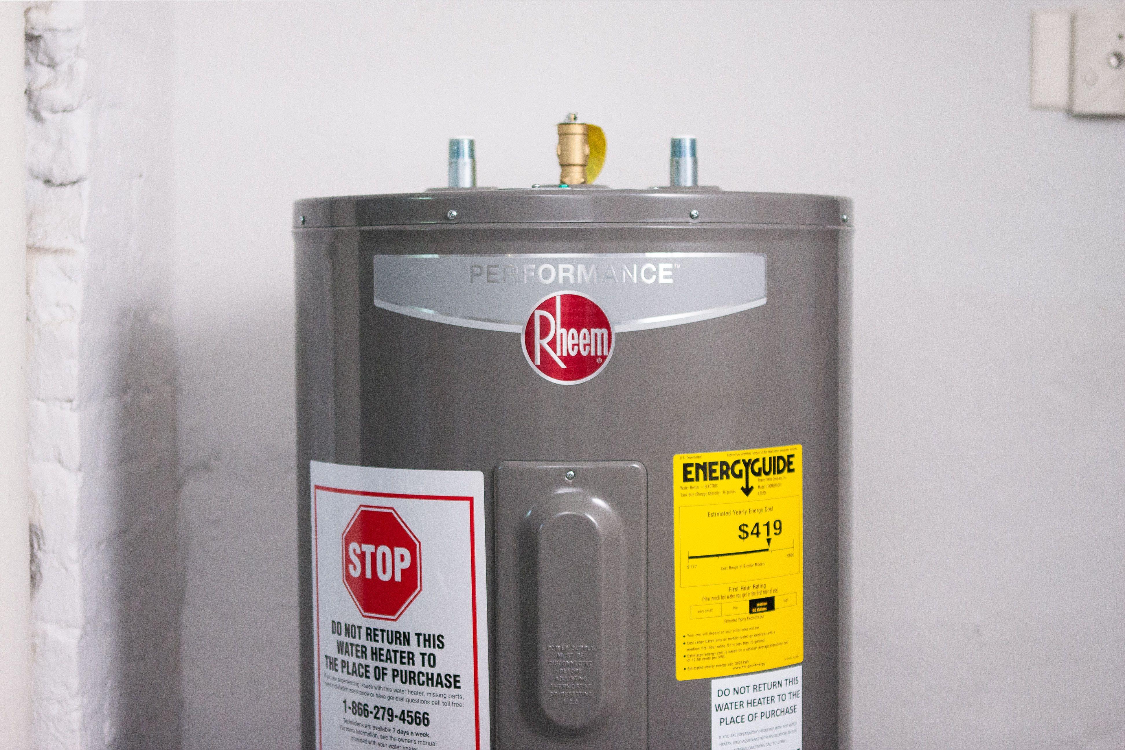 hot water heater repair cost