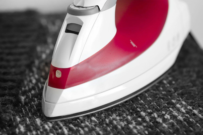ironing shrunken clothes