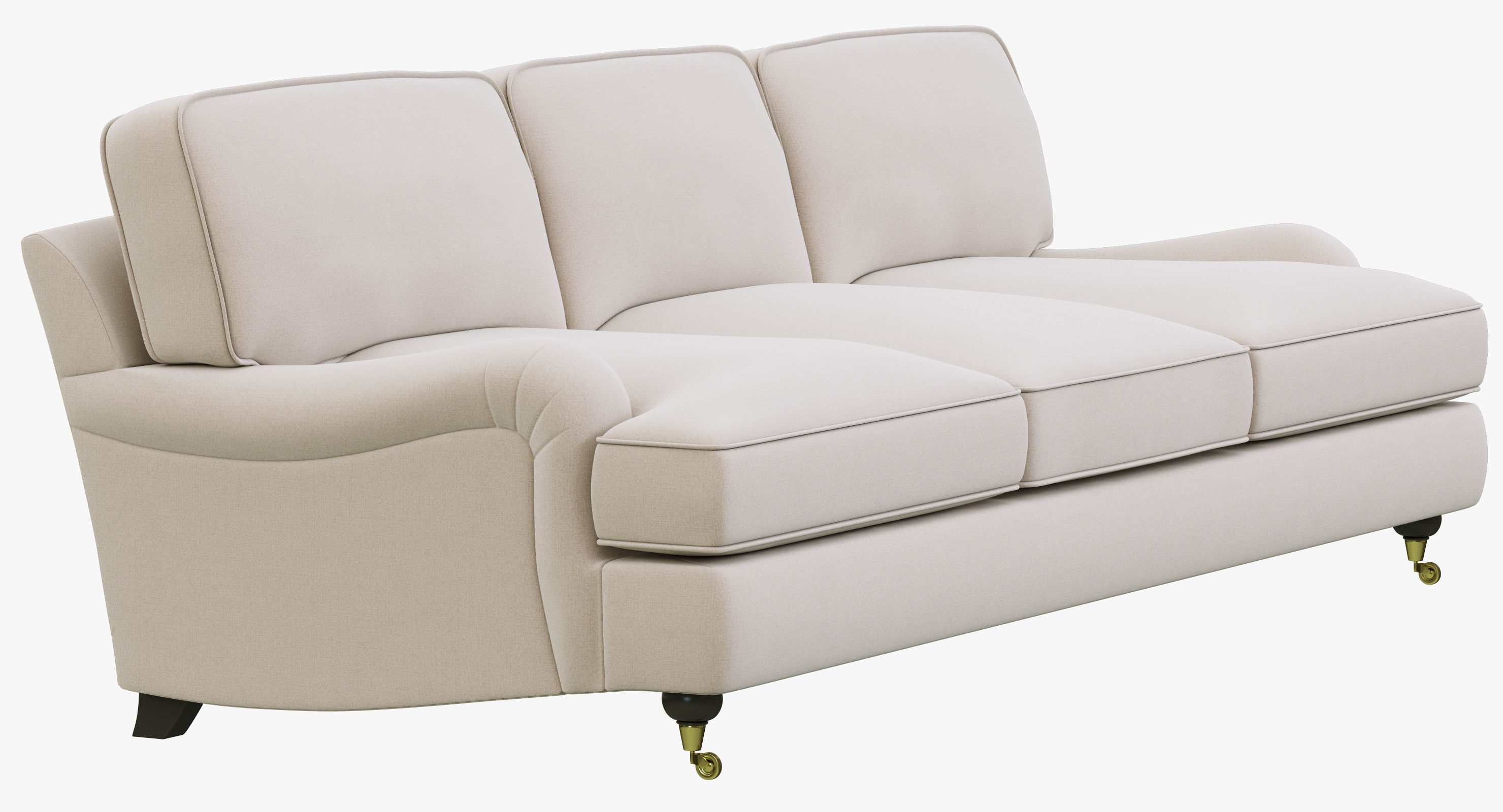 Restoration Hardware Roll Arm Sofa