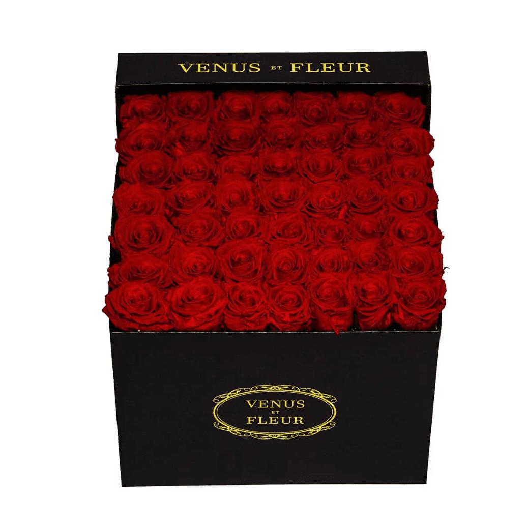 Large Square Classic Roses