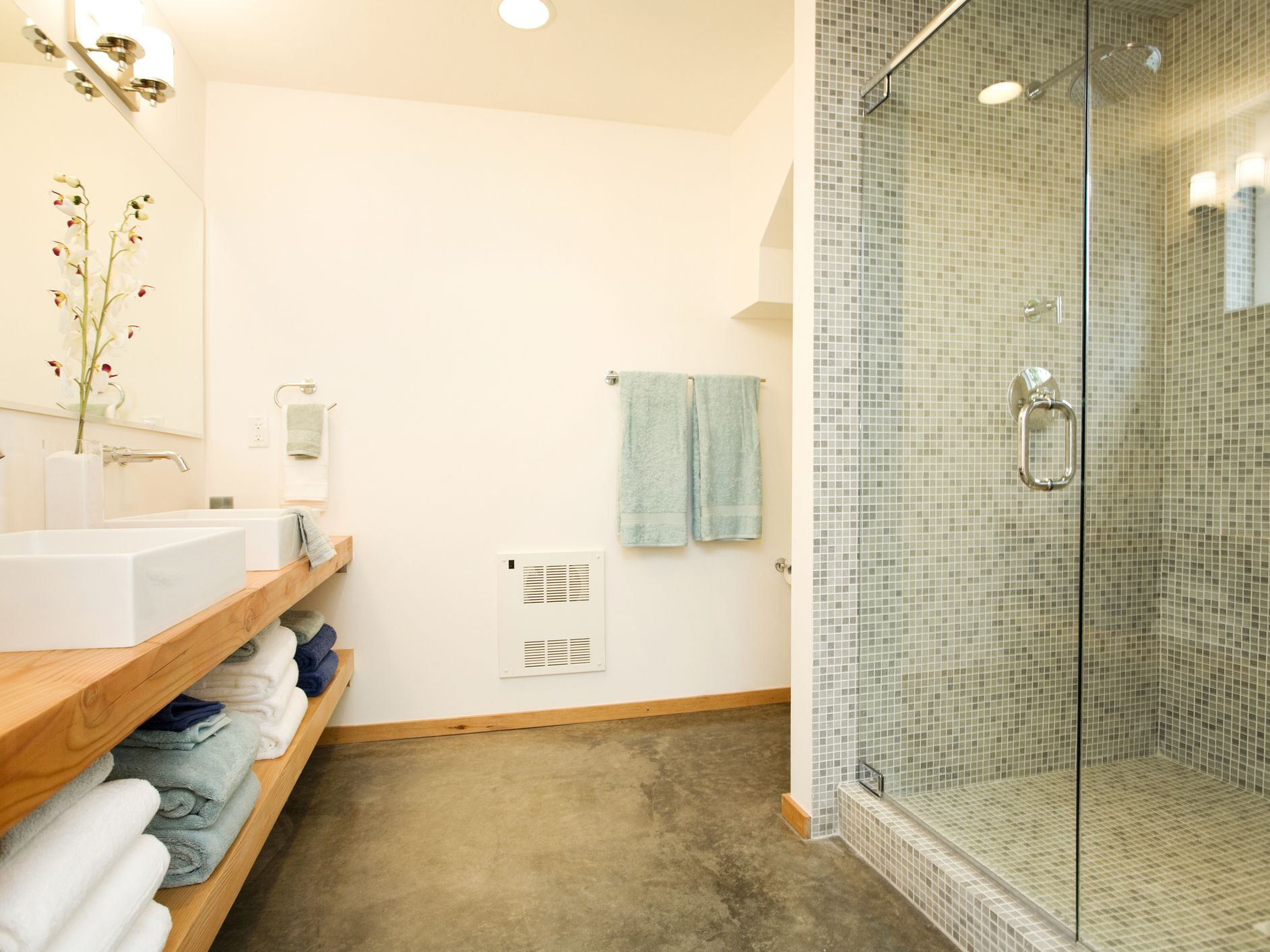 Concrete Bathroom Flooring Pros And Cons