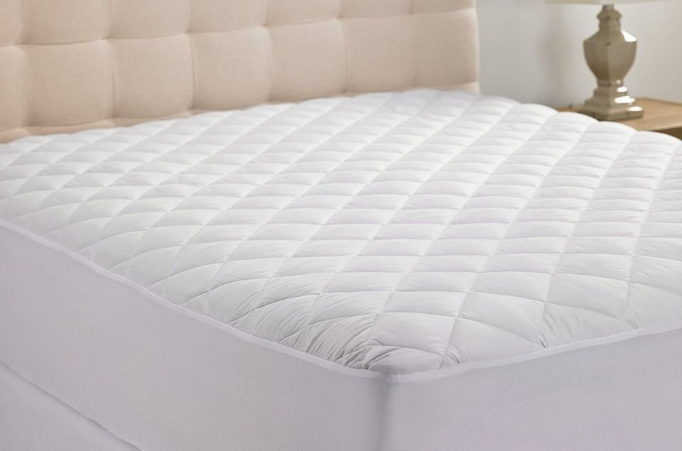 quilted mattress pad.  Quilted Inside Quilted Mattress Pad S