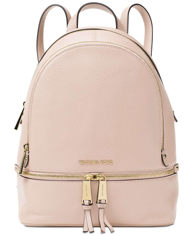 4091d44e64dd Small Backpack Purse Michael Kors