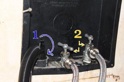 Washing machine leak troubleshooting