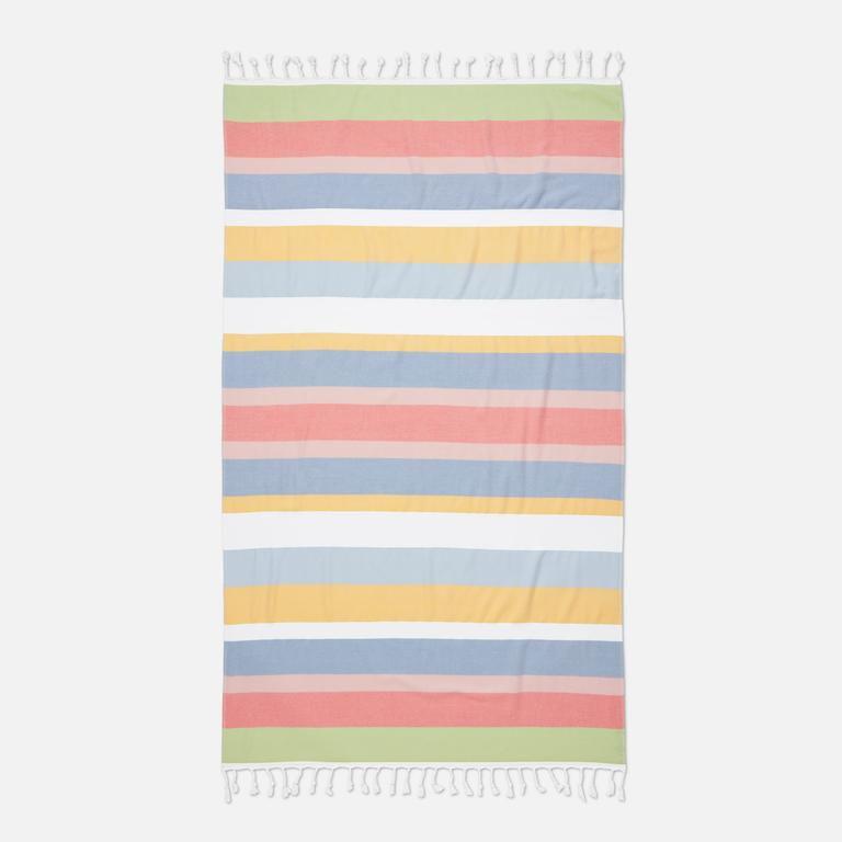 Brooklinen Hammam Towel- rainbow sherbert