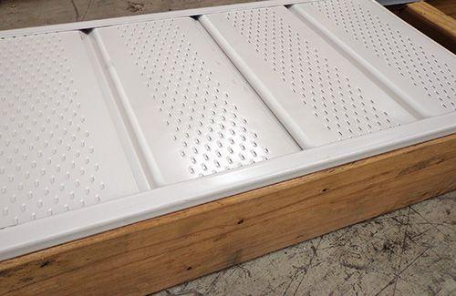 Installed Vented Soffit Panels