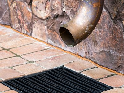 Downspout and Storm Drain