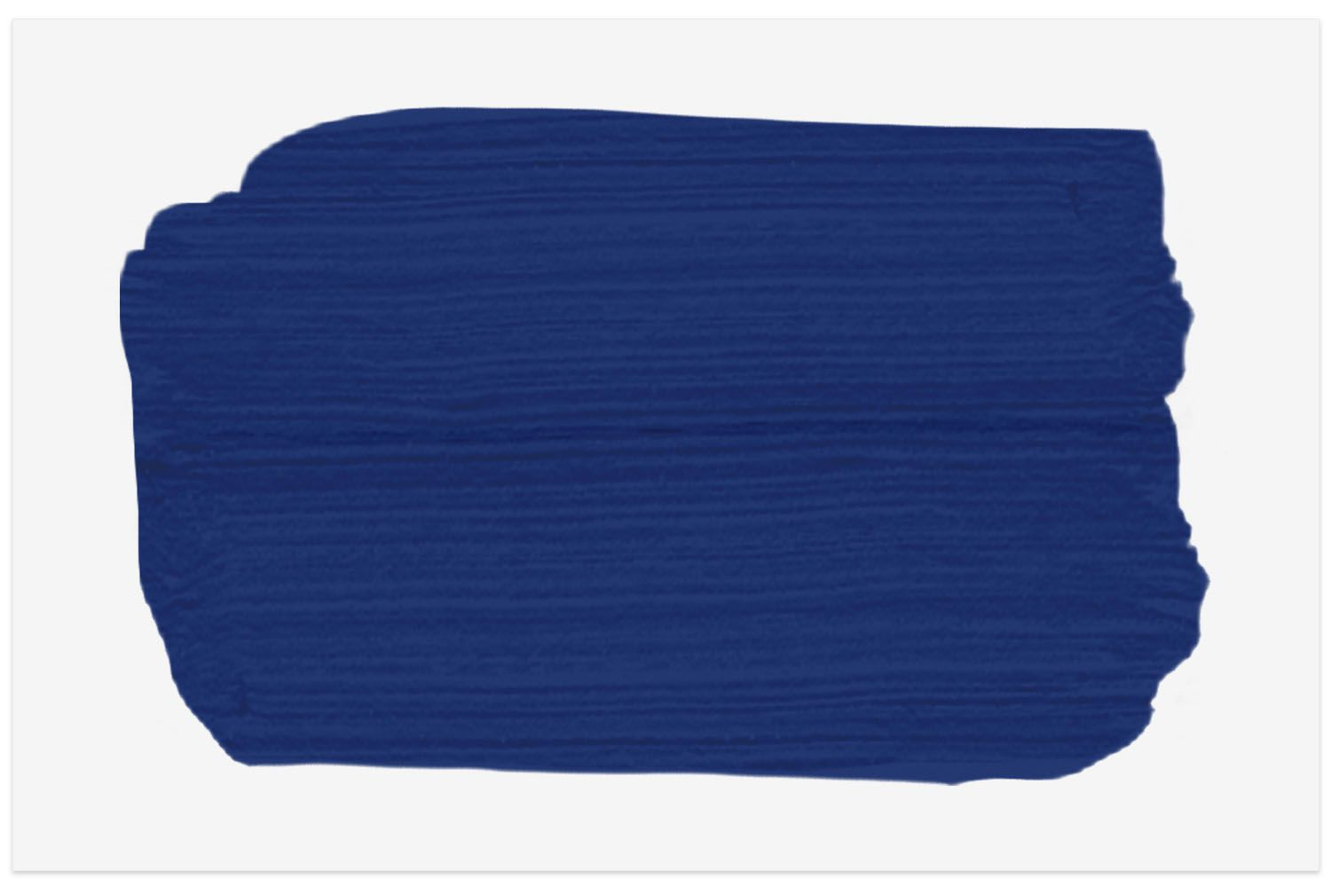 Blue paint swatch from Benjamin Moore
