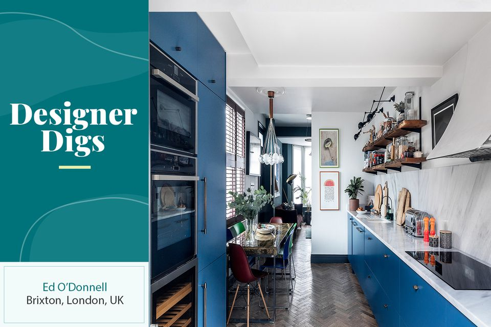 The Brixton, London home of interior designer Ed O'Donnell