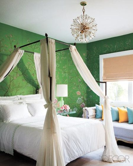 Romancing The Small Bedroom Green Digsdigs