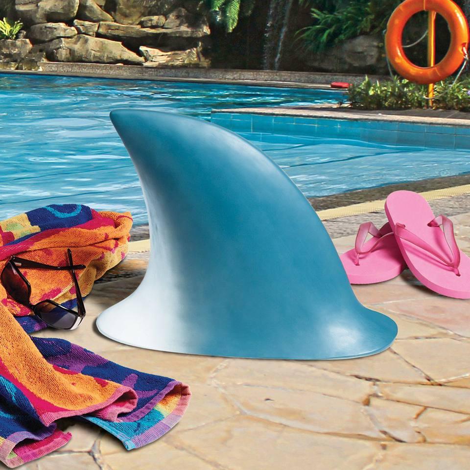 design toscano shark fin
