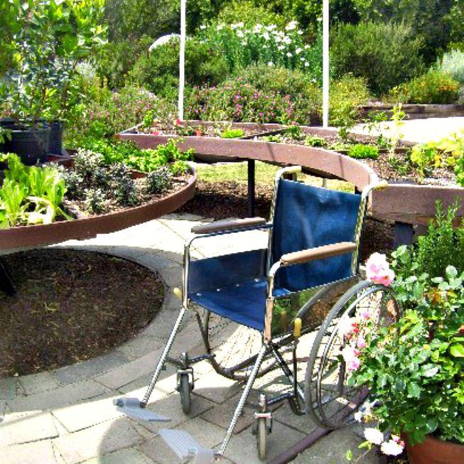 wheelchair accessible garden beds