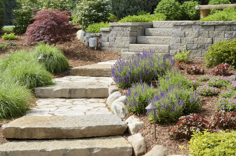 Feng Shui Garden Landscaping Walkways