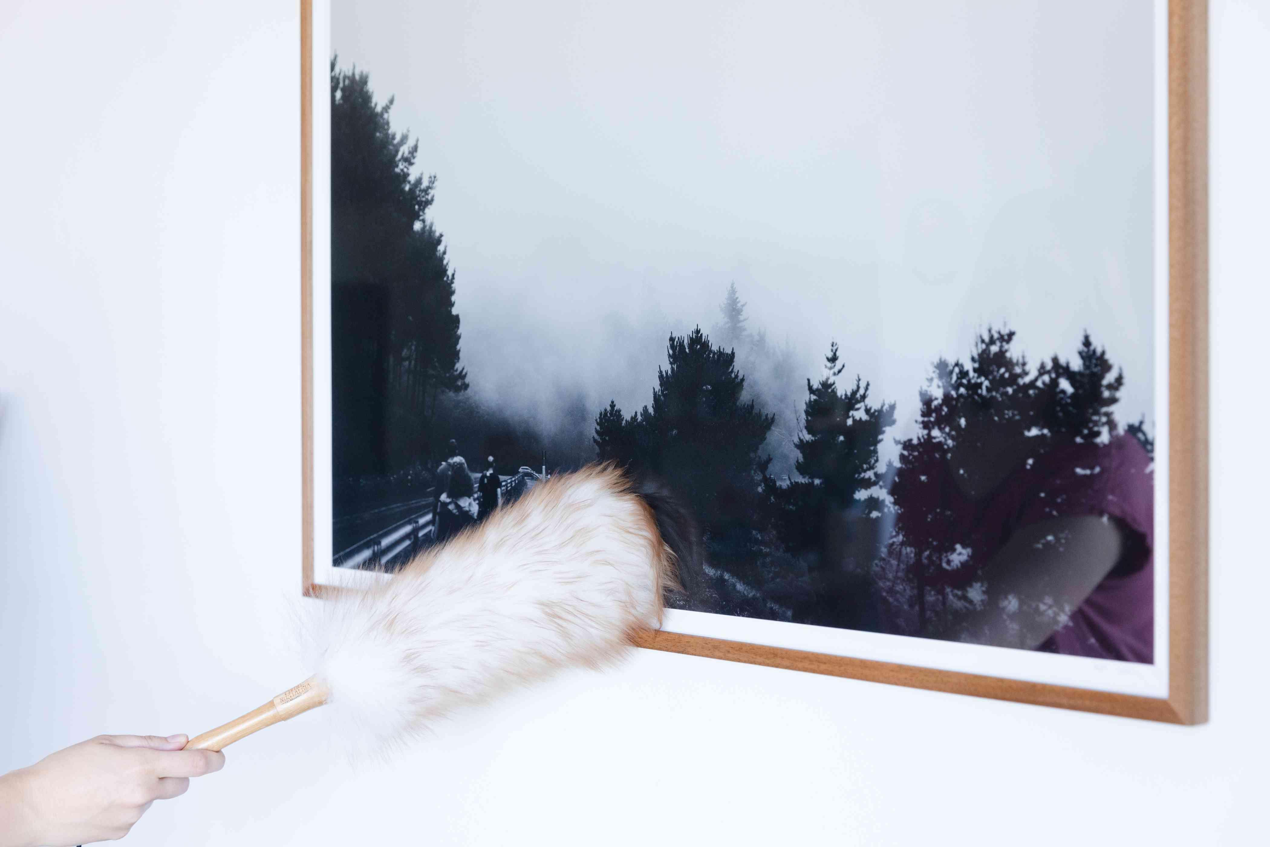 dusting artwork