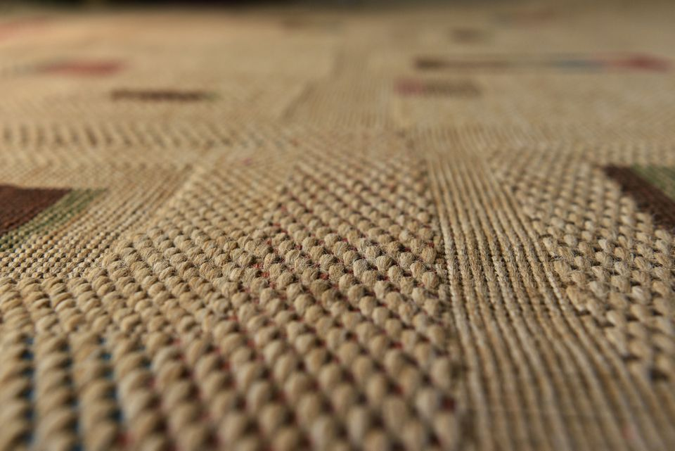 Sisal fiber carpet