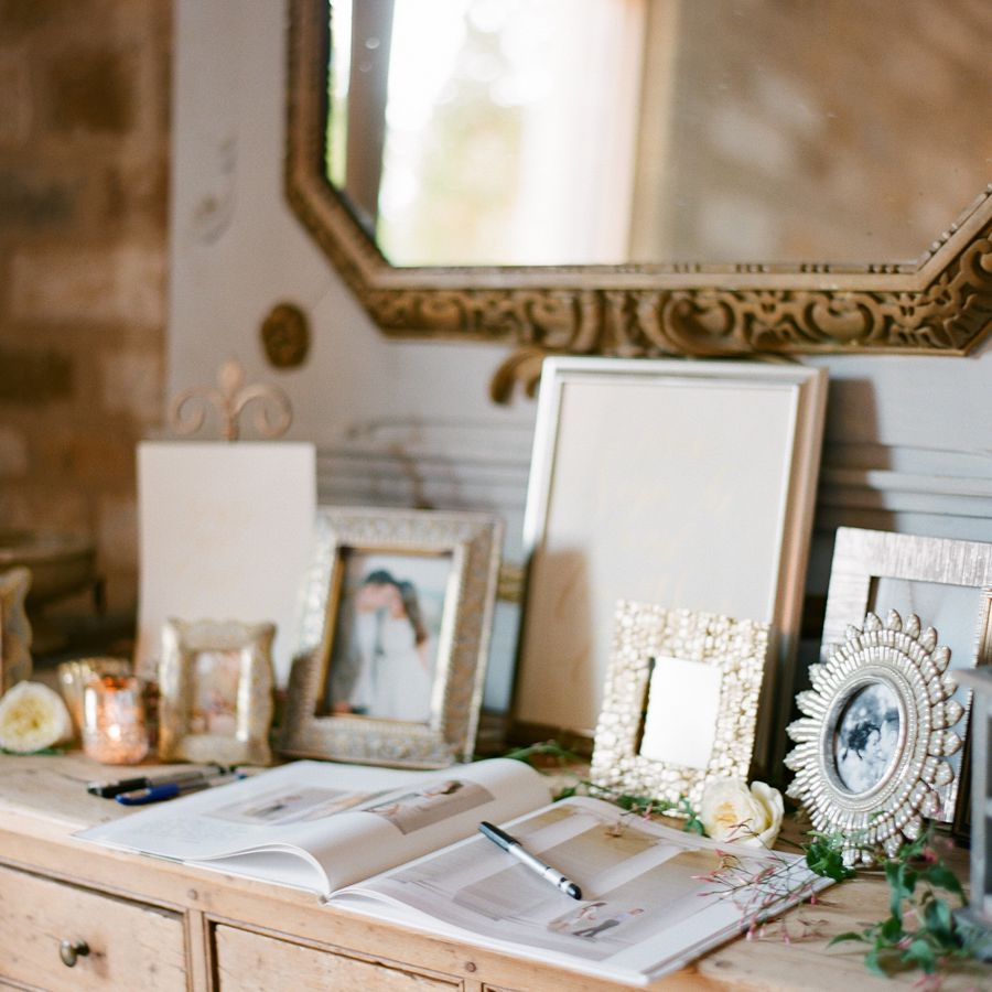 Engagement Photo Wedding Guest Book