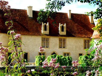 A traditional French country home.