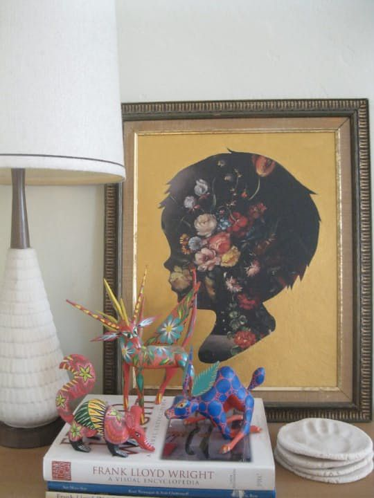 Ways To Update Picture Frames And Thrift Store Art