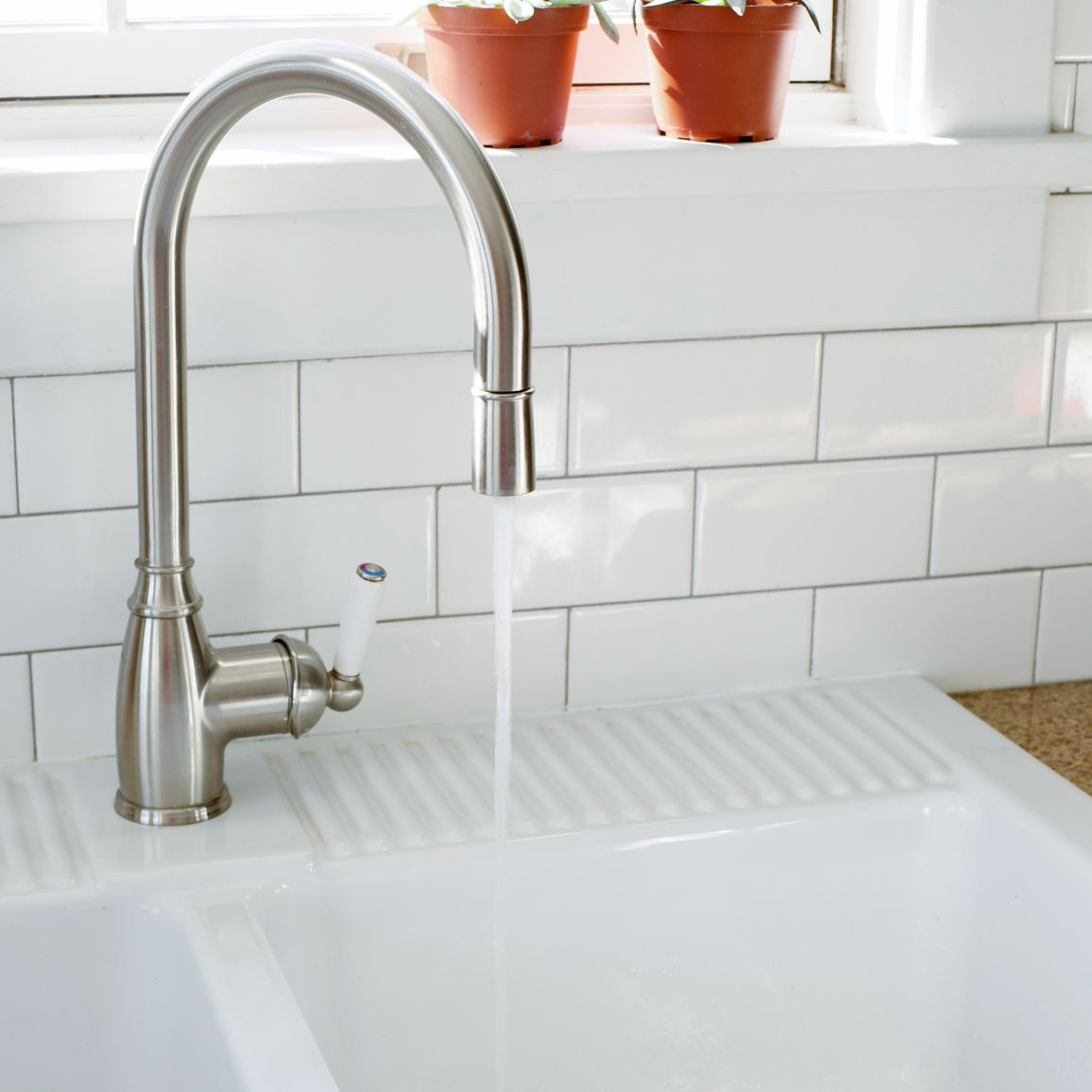 kitchen chrome sink
