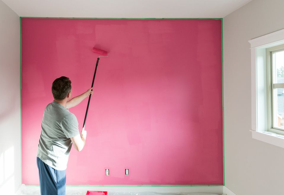 how to paint your walls like a pro. Black Bedroom Furniture Sets. Home Design Ideas