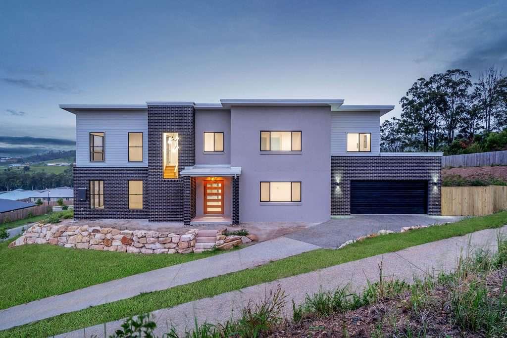 hermosa casa moderna y personalizada