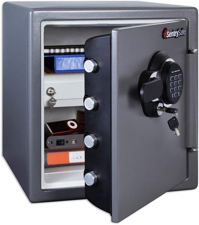 SentrySafe Fireproof and Waterproof Safe with Digital Keypad