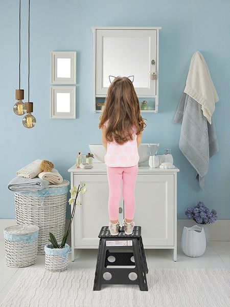 Acko 16 Inches Super Strong Folding Step Stool For S And Kids