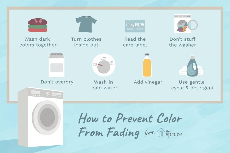 consejos para evitar que el color se desvanezca