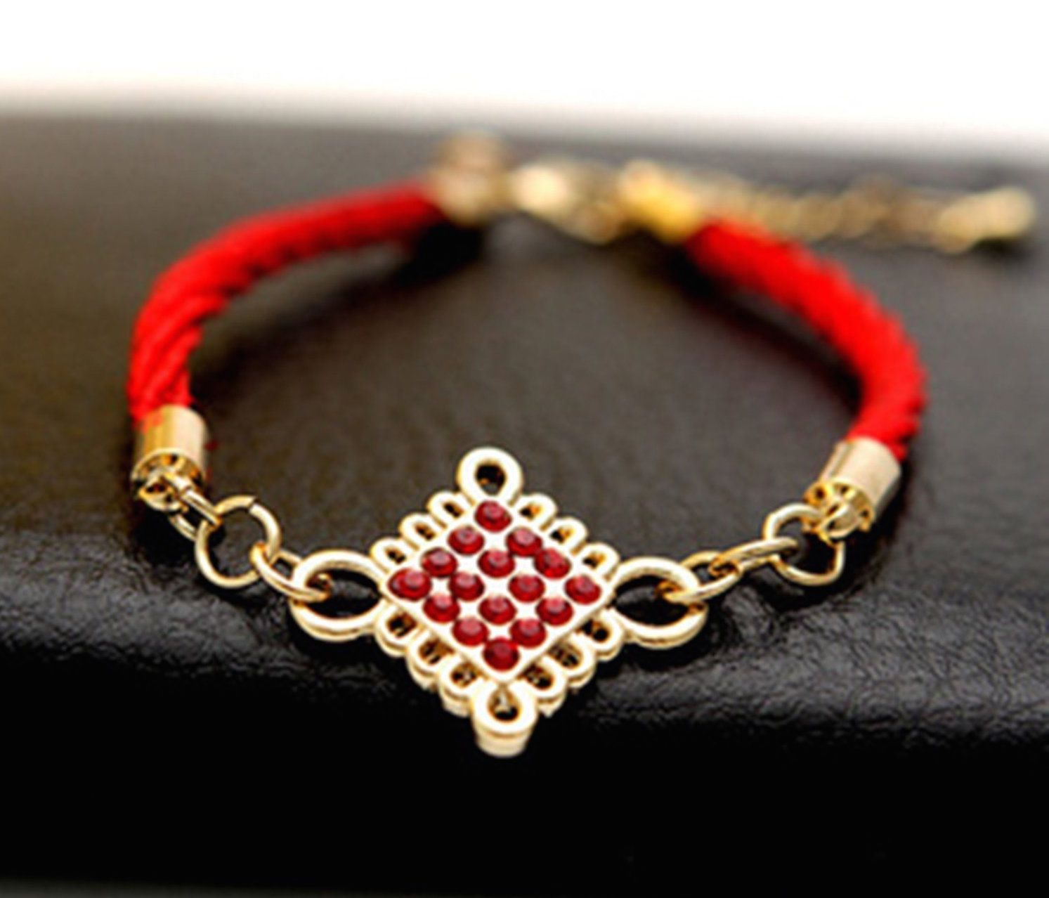 8 Mystic Knot Good Luck Charms Cocoa Jewelry Rules Of Love Bracelet Emas