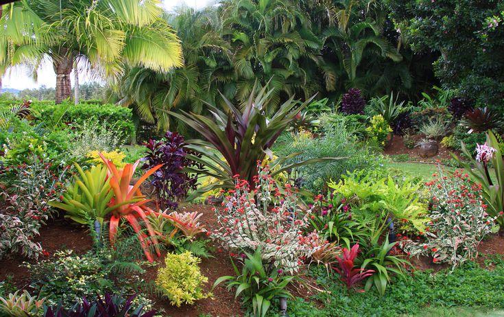 - Tropical Flower Garden Design Ideas