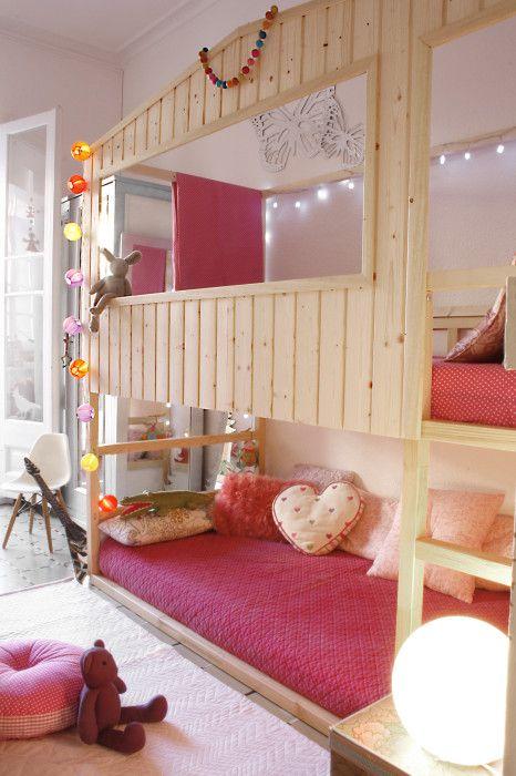 IKEA KURA Hack: Cozy Cabin