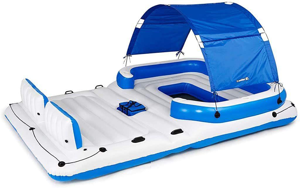 Bestway Hydro ForceTropical Breeze Floating Island Raft