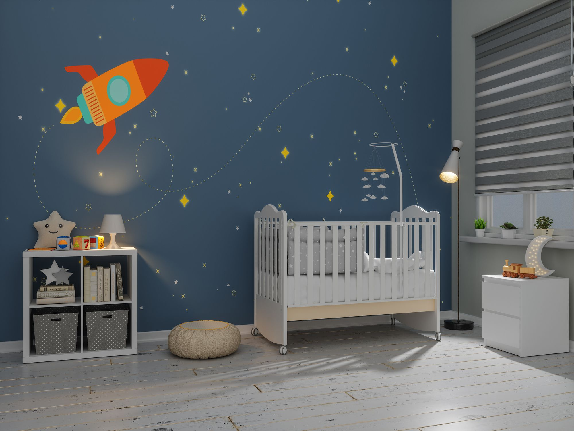 8 Space-Themed Rooms for Kids