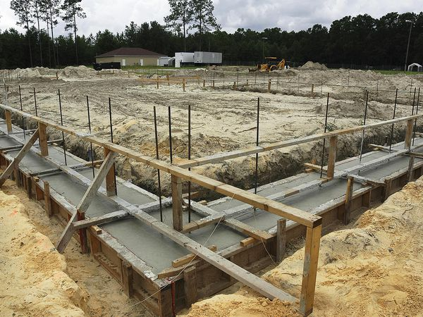Footing foundation