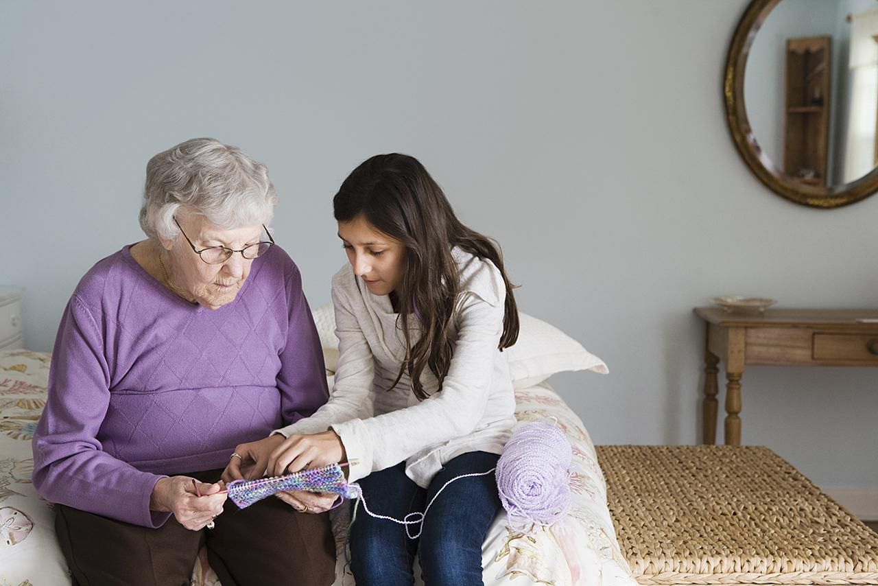 Furnishing a Living Space for Elderly Parents