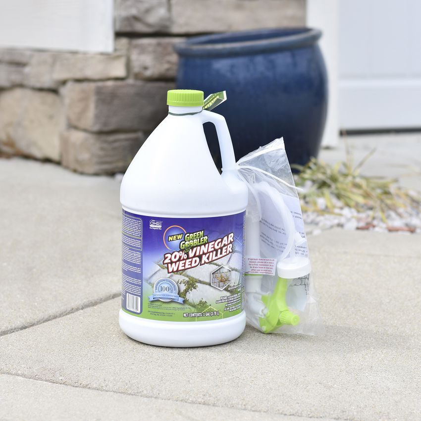 Natural Garden Care: Green Gobbler Organic 20% Vinegar Weed & Grass Killer