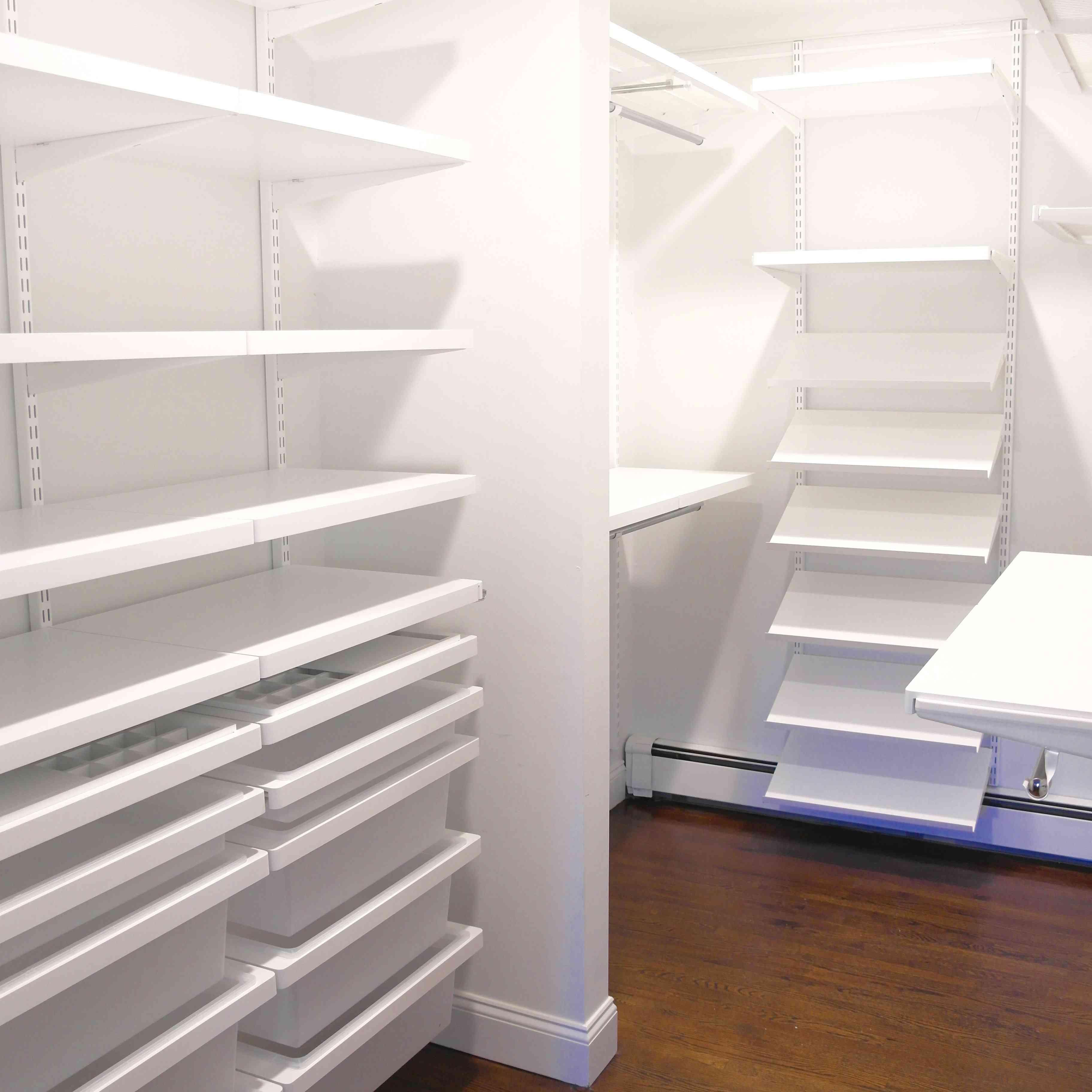 Sistema de armario organizado