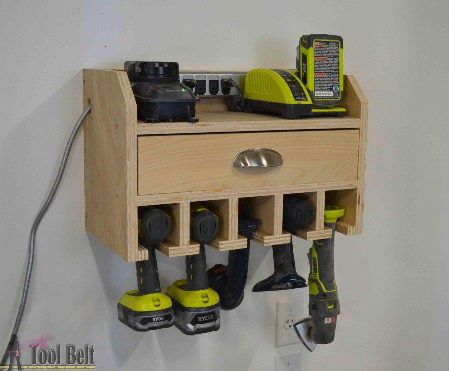 cómo almacenar herramientas eléctricas