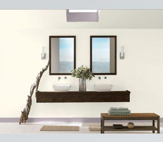 galería de fotos de baño blanco