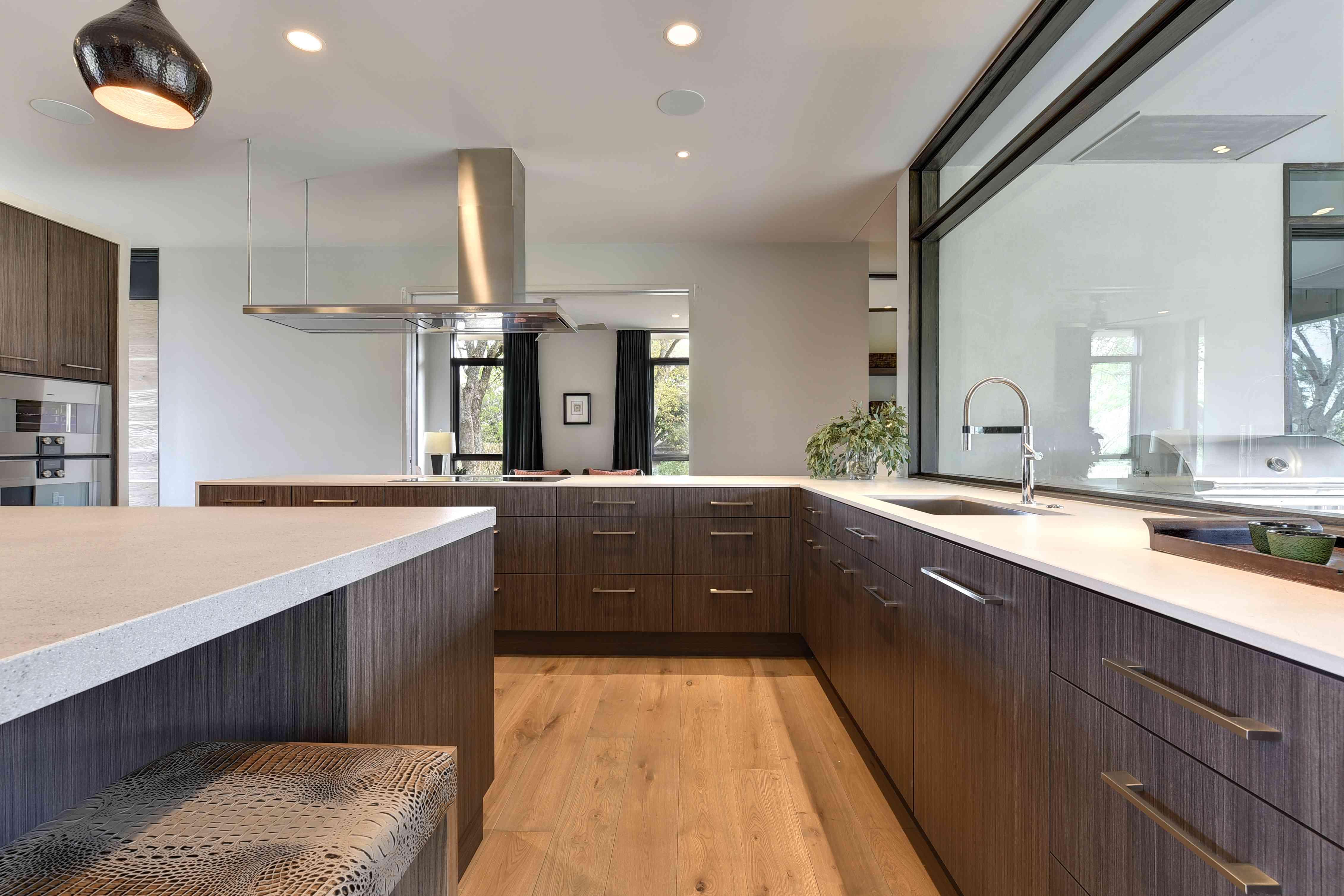 Laura Britt's kitchen in her Austin, TX, WELL home