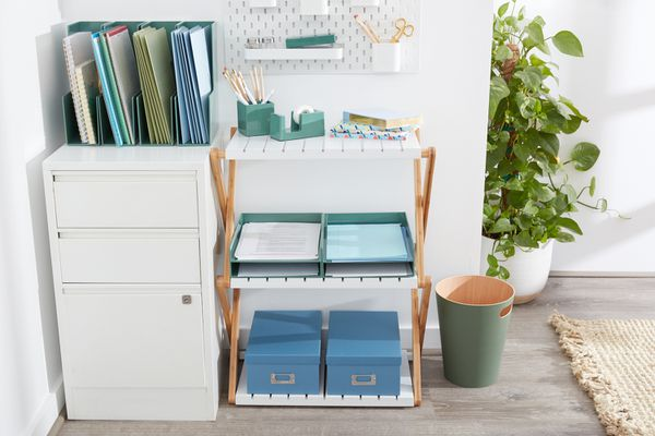 Organized home filing system