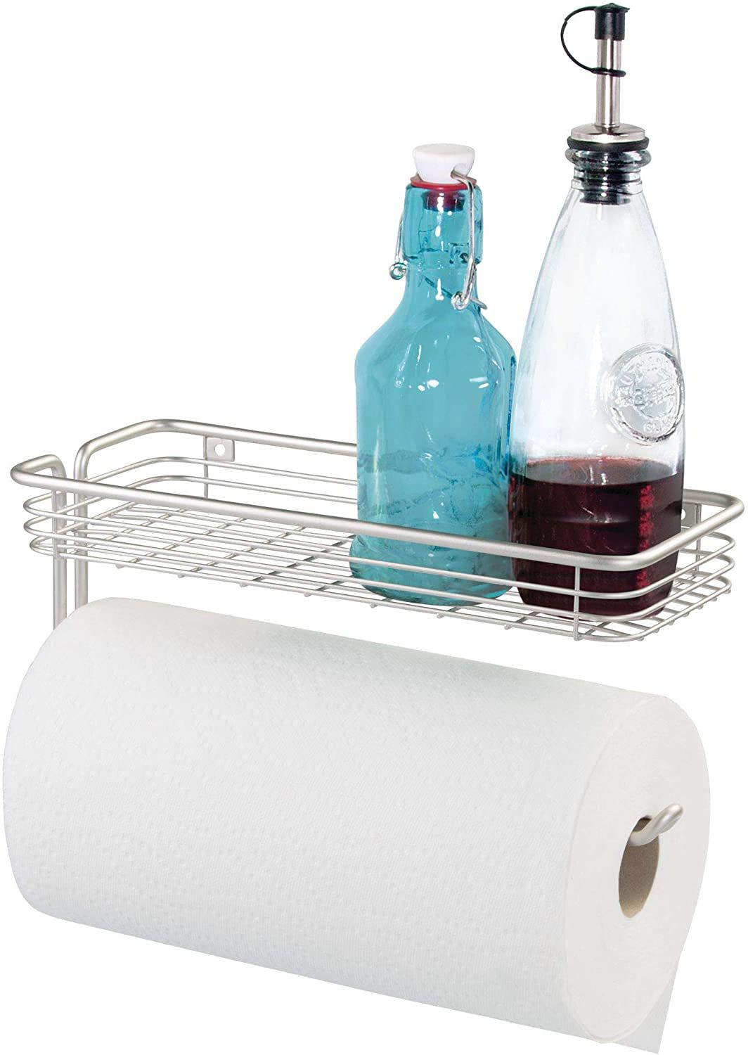 InterDesign Classico Over-the-Cabinet Paper Towel with Shelf