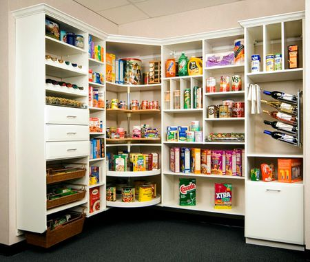 stylish kitchen pantry - Kitchen Pantries