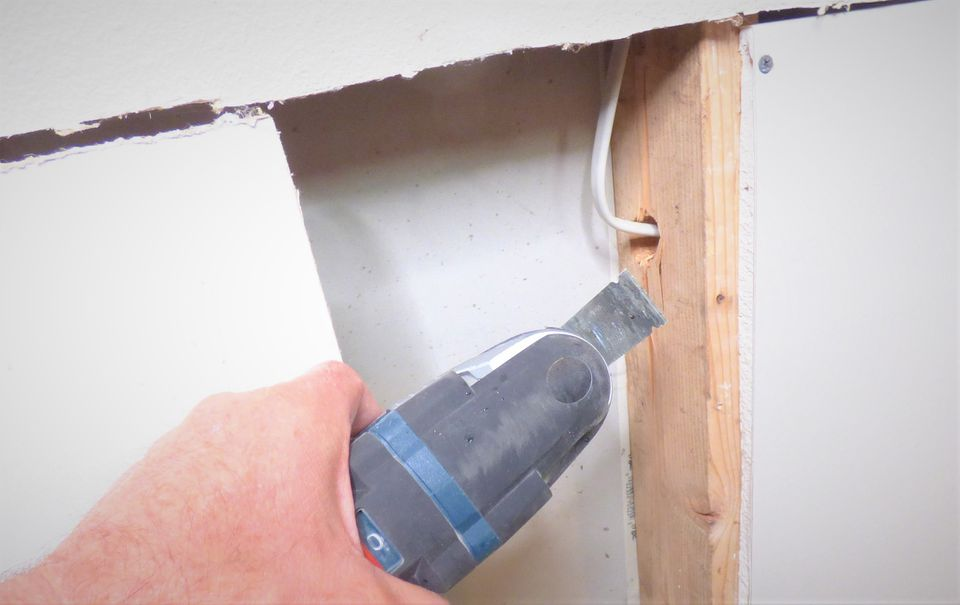Tips for Cutting Drywall to Run Electrical Wires Where Is Wiring In Walls on