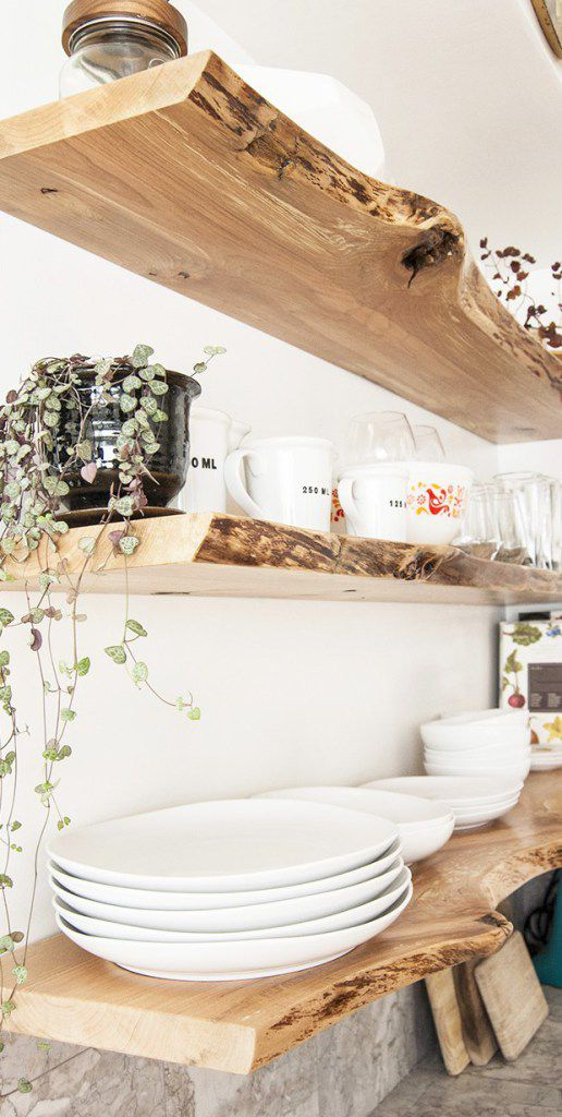 10 Beautiful Open Kitchen Shelving Ideas