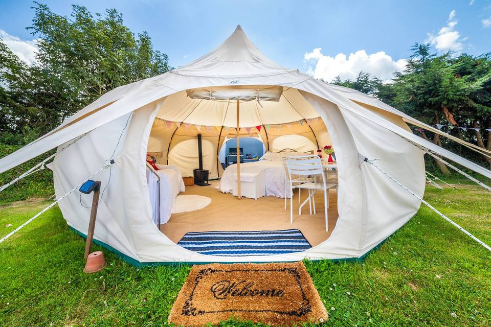 7 Cozy Tents and Outdoor Shelters