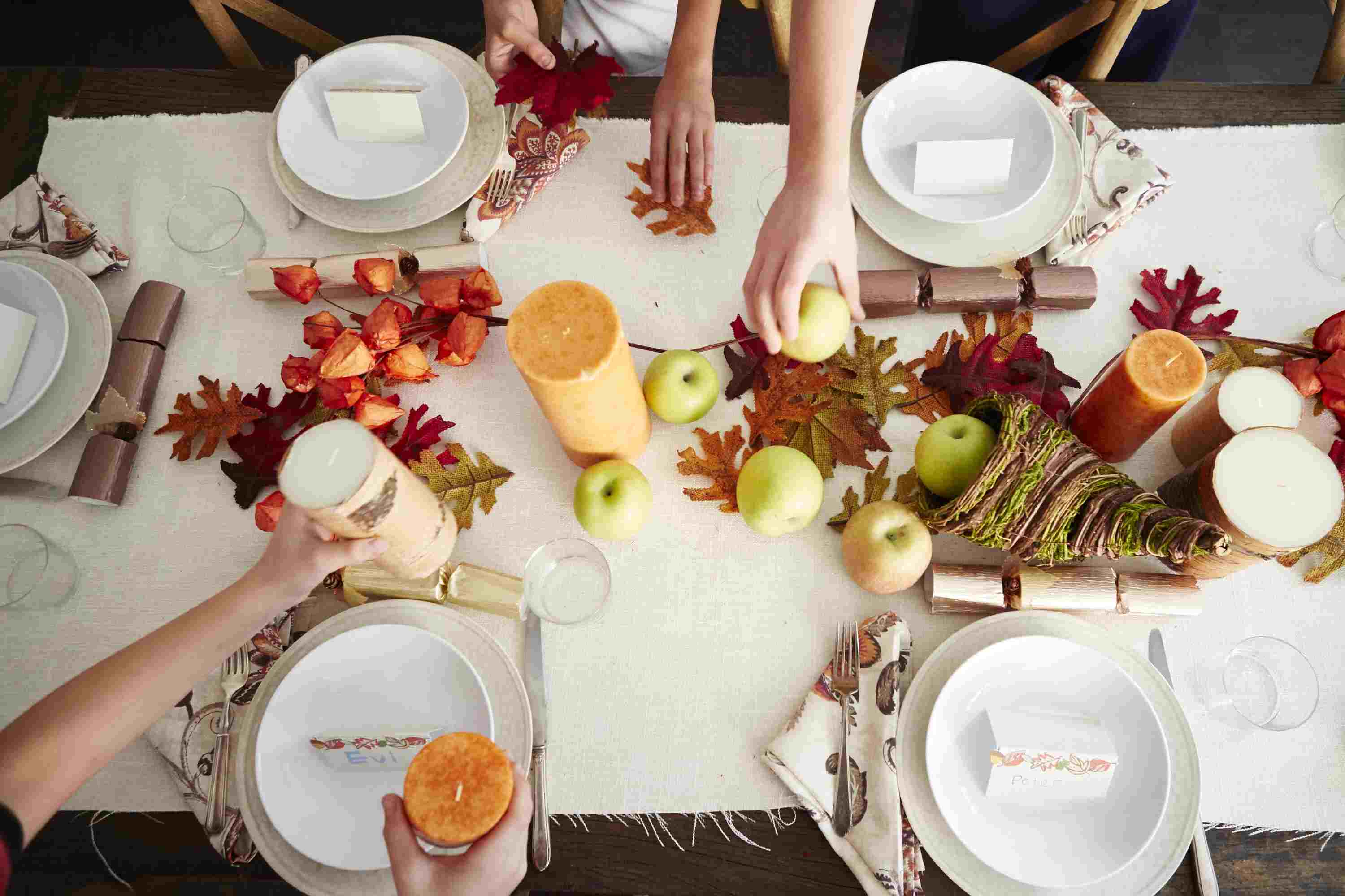 Fun Ways Kids Can Help Decorate for Thanksgiving