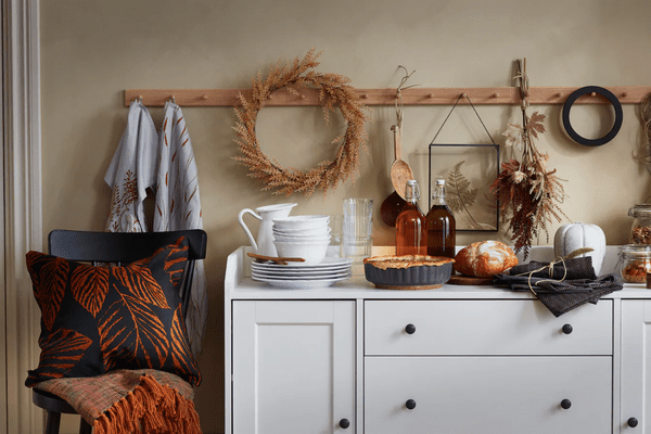 A collection of fall accents
