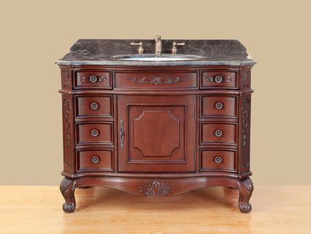 Bosconi Mendocino Bathroom Vanity - Bathroom Vanities That Look Like Antique Furniture
