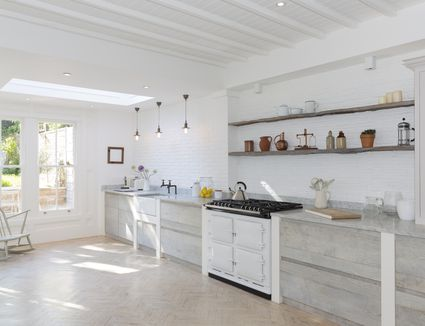 Kitchen Trends Introduced in the 1950s on remodel 1950s kitchen, 1950 s color schemes kitchen, 1950s small oak kitchen,